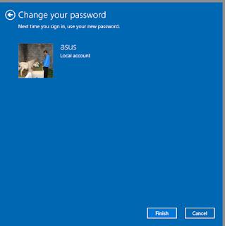 password windows 10 berhasil dihapus