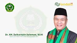 Profil Dr KH Zulkarnain Suleman, Bakal Calon Rektor IAIN Gorontalo di Pilrek 2021