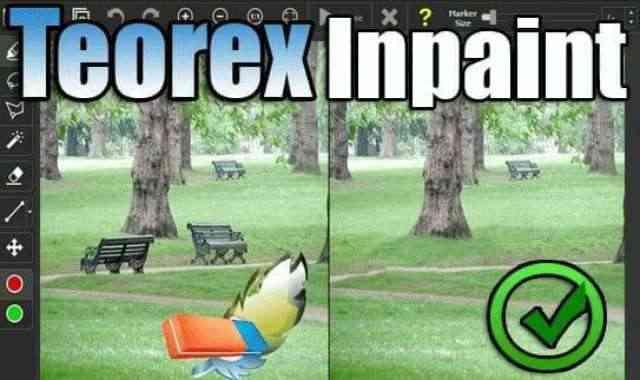 تحميل وتفعيل برنامج Teorex Inpaint لحذف وازالة اي شيء من الصورة دون ترك أثر