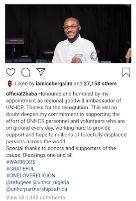 2face bags United Nations appointment
