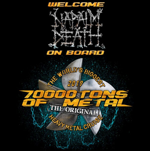 napalm death 70000 tons of metal cruise