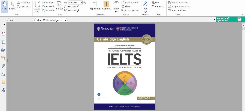 كتاب اختبار الايلتس pdf