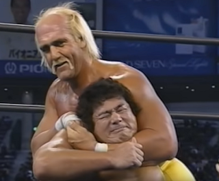 SWS/WWF SuperWrestle 1991 - Hulk Hogan wrestled Genichiro Tenryu in the main event