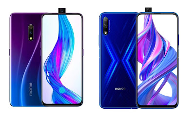 Realme X vs Honor 9X