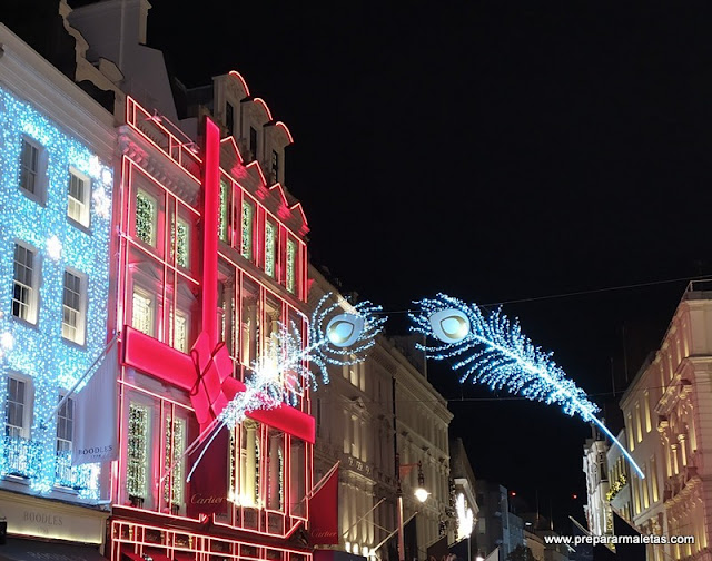 Decoración de Navidad en Londres Mayfair