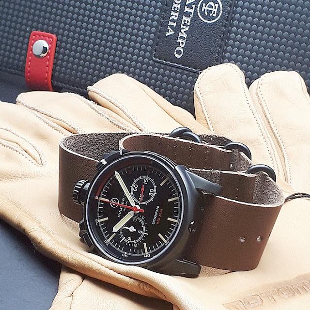 大阪 梅田 ハービスプラザ WATCH 腕時計 ウォッチ ベルト 直営 公式 CT SCUDERIA CTスクーデリア Cafe Racer カフェレーサー Triumph トライアンフ Norton ノートン フェラーリ REDZONE レッドゾーン CS10110