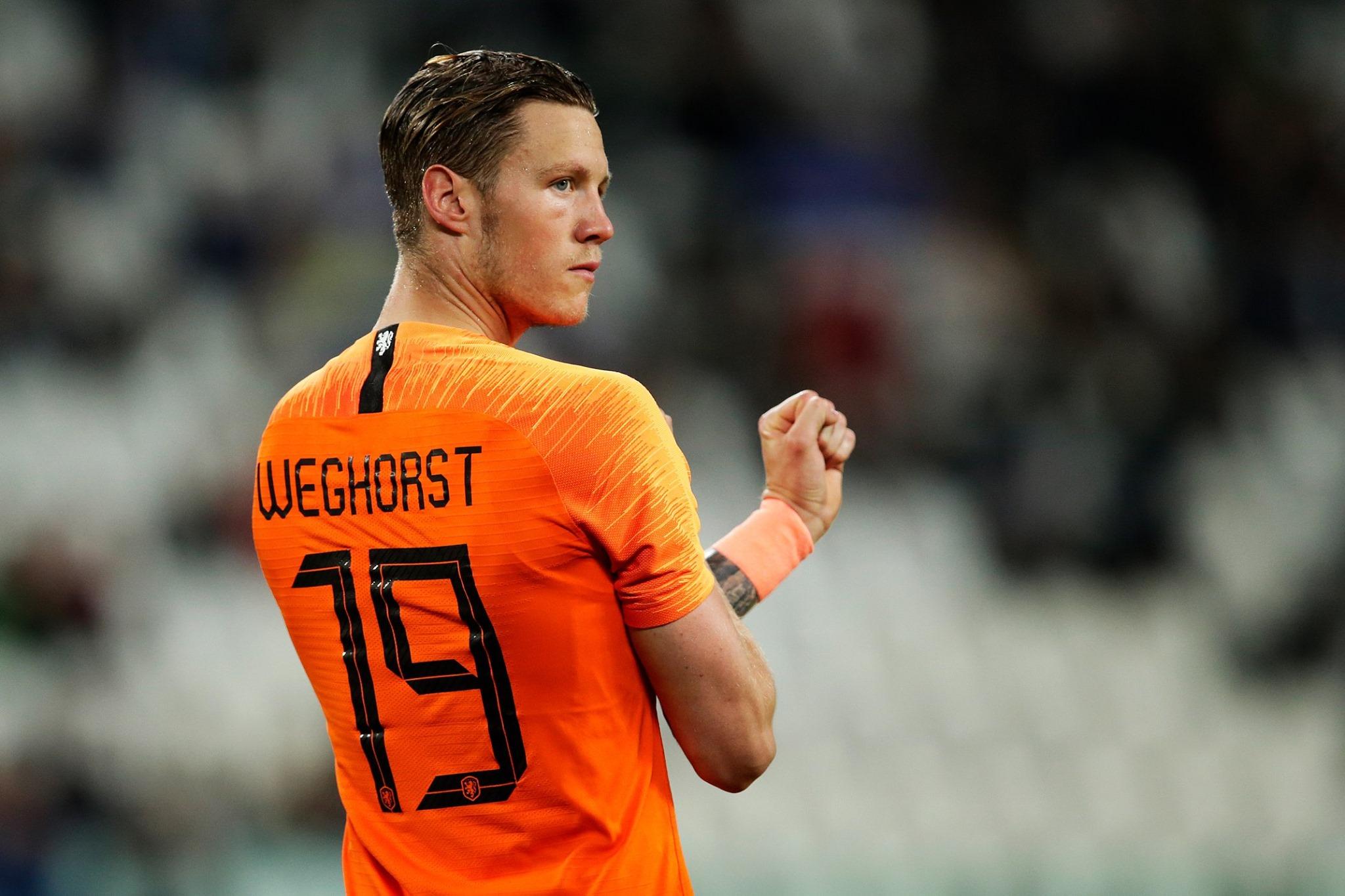 Wolfsburg forward Wout Weghorst