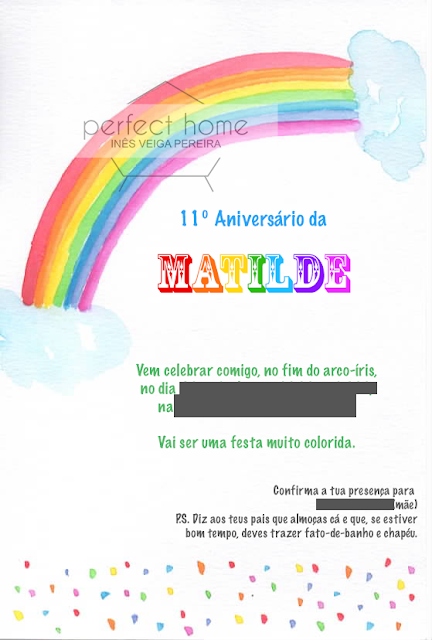 aniversario arco-íris rainbow birthday party