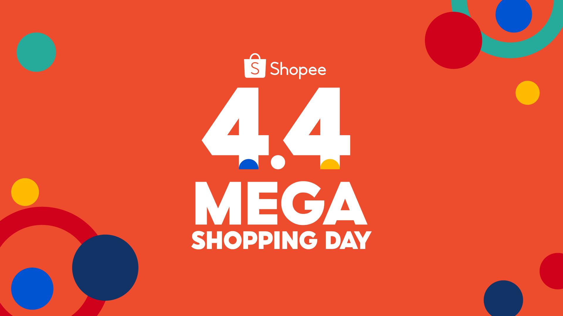 Shopee holds inaugural 4.4 Mega Shopping Day