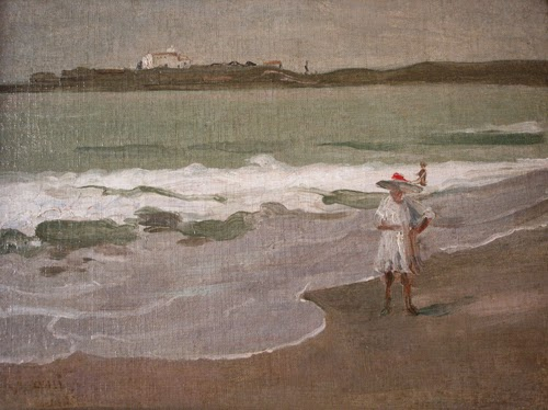 A Igrejinha - Eliseu Visconti -  O mais importante artista plástico brasileiro da primeira década do século XX