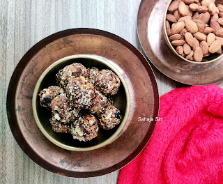 Dry fruits balls with no added sugar
