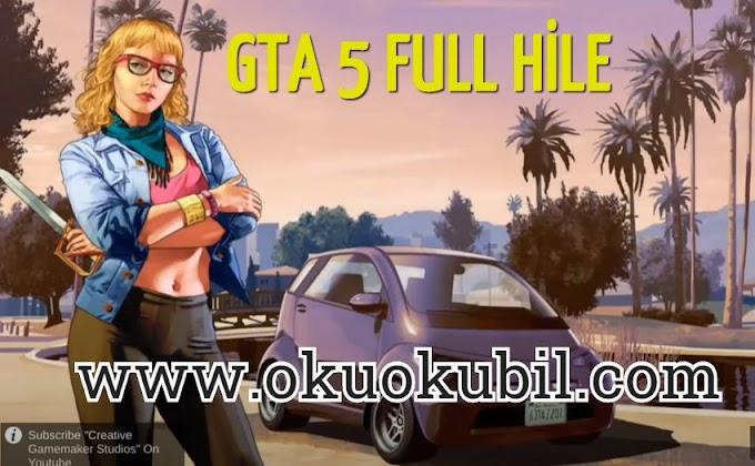 GTA 5 v20.0.8  Full Hile + Mega Özellik+  APK + OBB Data İndir 2020