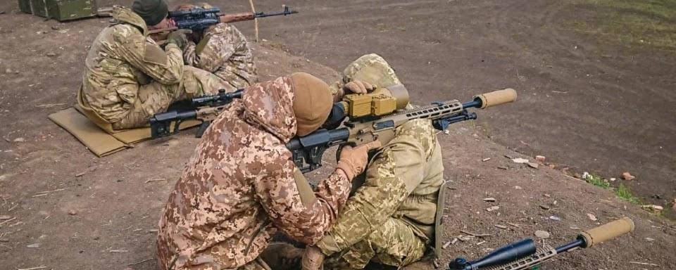 Марксмени (піхотні снайпери) в українській армії (ВІДЕО)