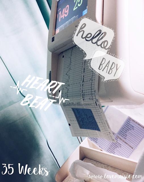 Bump update | Weeks 35 + 36 | Love, Maisie