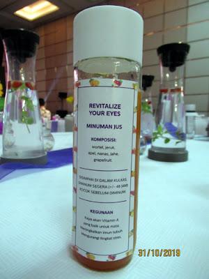 resep dari life juice di acara Philiphs EyeComfort