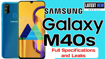 Samsung Galaxy M40s Specifications