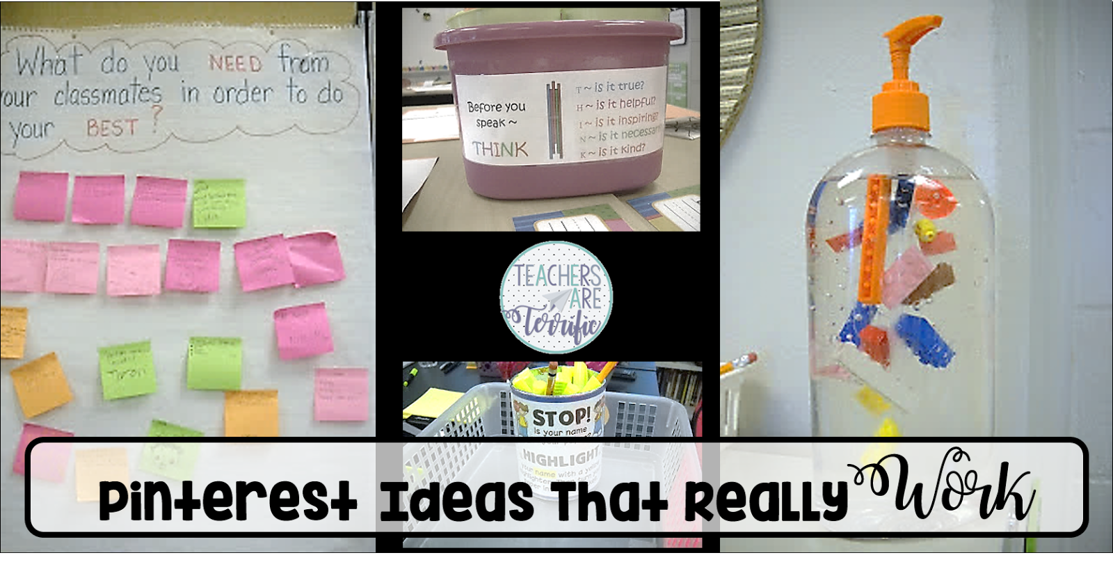 Fabulous classroom Ideas from Pinterest that Really Work!