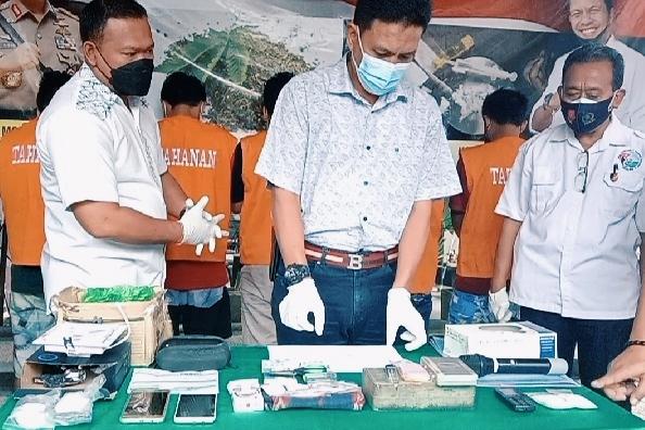 Polda NTB ungkap sindikat narkoba jaringan Malaysia