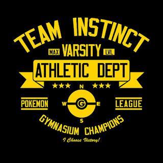 Team Instinct Pokemon Go