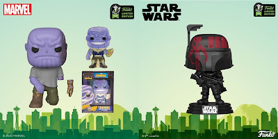 Funko's Emerald City Comic Con 2020 Exclusives Part 2 - Marvel, Game of Thrones, Star Wars, Harry Potter, The Simpsons & More!