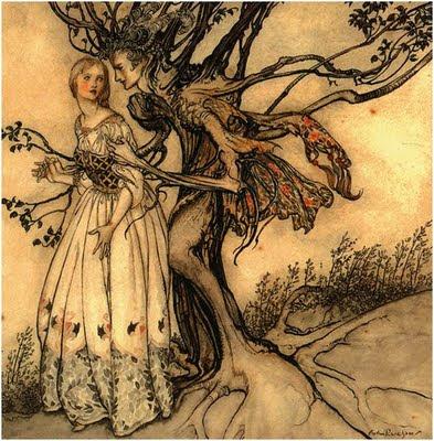 Arte y diseño con un  árbol