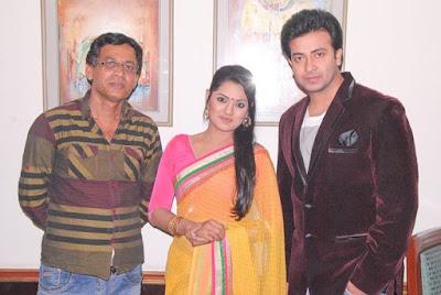 Nusrat Imroz Tisha with Sakib Khan