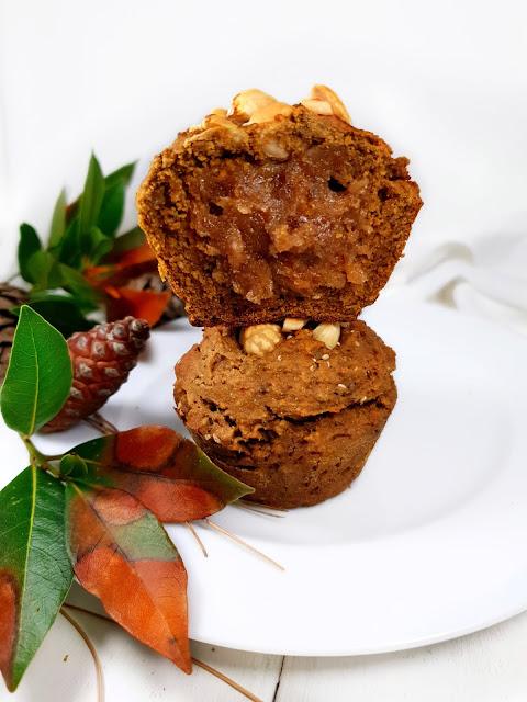 MUFFINS POTIMARRON_coeur crème de marrons_sans gluten_vegan