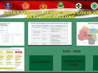 Download Spanduk Posko Terpadu Covid-19.cdr