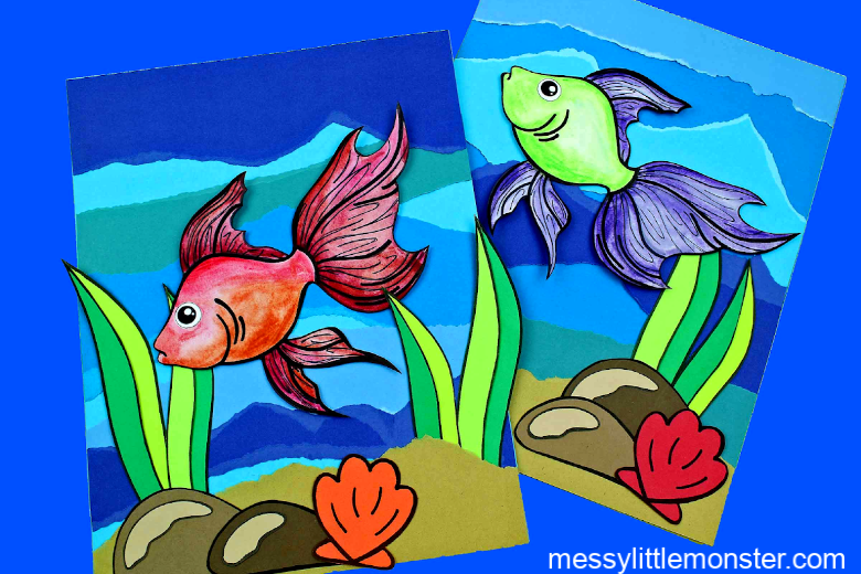 under the sea fish craft