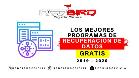 Top10 Programas Gratuitos de Recuperación de Datos 2020