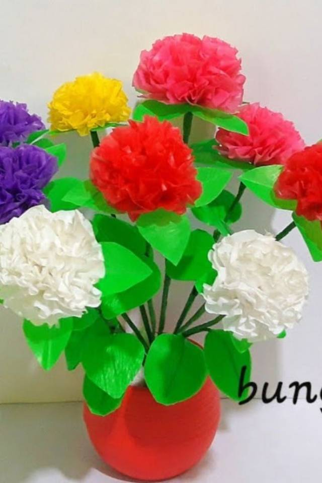 Cara Bikin Bunga Plastik : bikin, bunga, plastik, Membuat, Bunga, Plastik, Kresek, Simple