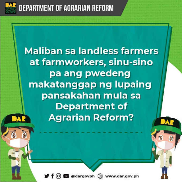 batayan upang maging isang agrarian reform beneficiary