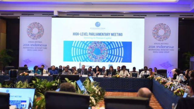 Gempa Goyang Bali, Acara Annual Meeting IMF-WB Tetap Digelar