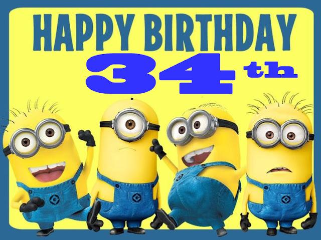 HAPPY 34RD BIRTHDAY