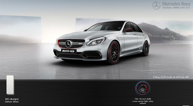 Mercedes AMG C63 S Edition 1 2015