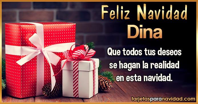 Feliz Navidad Dina
