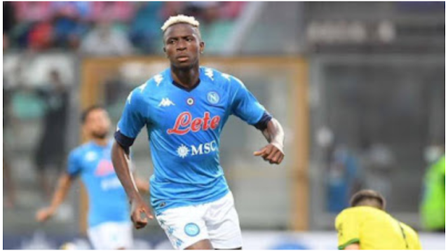 Napoli striker Osimhen reportedly tests positive for COVID-19