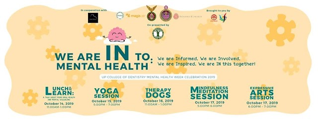 UPCD MENTAL HEALTH WEEK CELEBRATION 2019