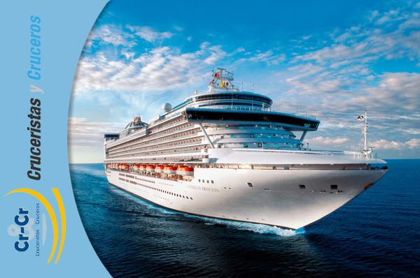 ► Princess Cruises, será la primera en navegar por el Canal de Panamá