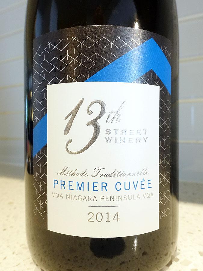 13th Street Premier Cuvée Sparkling 2014 (91 pts)