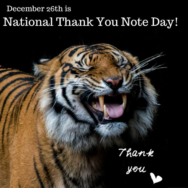 National Thank You Note Day Wishes Photos