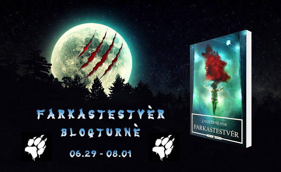 Blogturné Extra – J. Goldenlane: Farkastestvér trailer [Nyereményjáték]