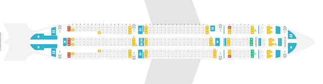seat no airlines yang tiada tingkap