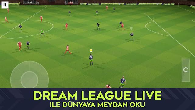 Dream League Soccer 2021 Hileli APK - Para Ve Elmas Hileli APK