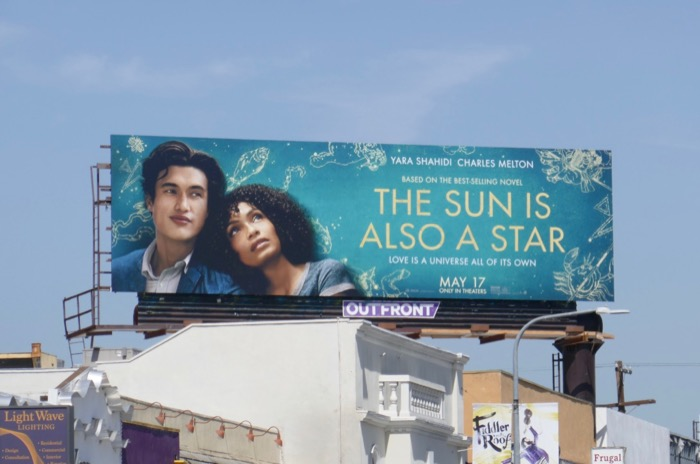 Sun Is Also a Star movie billboard