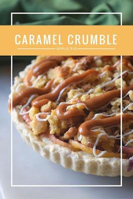 Caramel Crumble Apple Pie, Apple Recipes