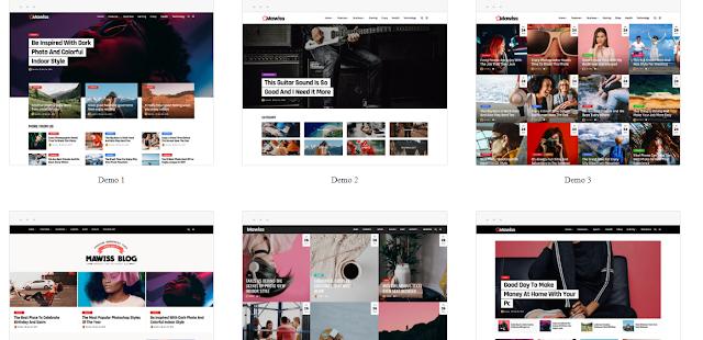 Mawiss – WordPress Blog Magazine Theme