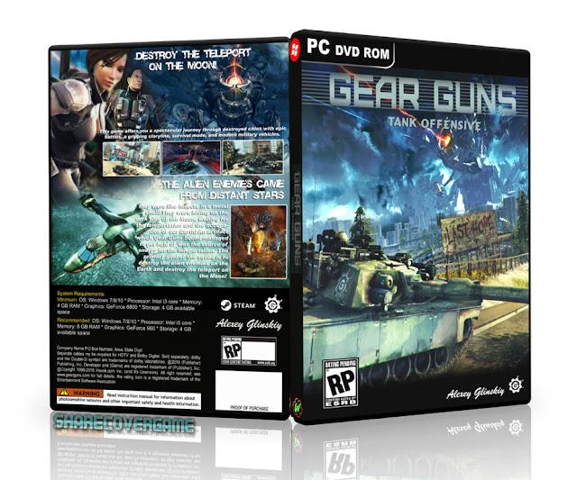 GEARGUNS Tank offensive BOX COVER