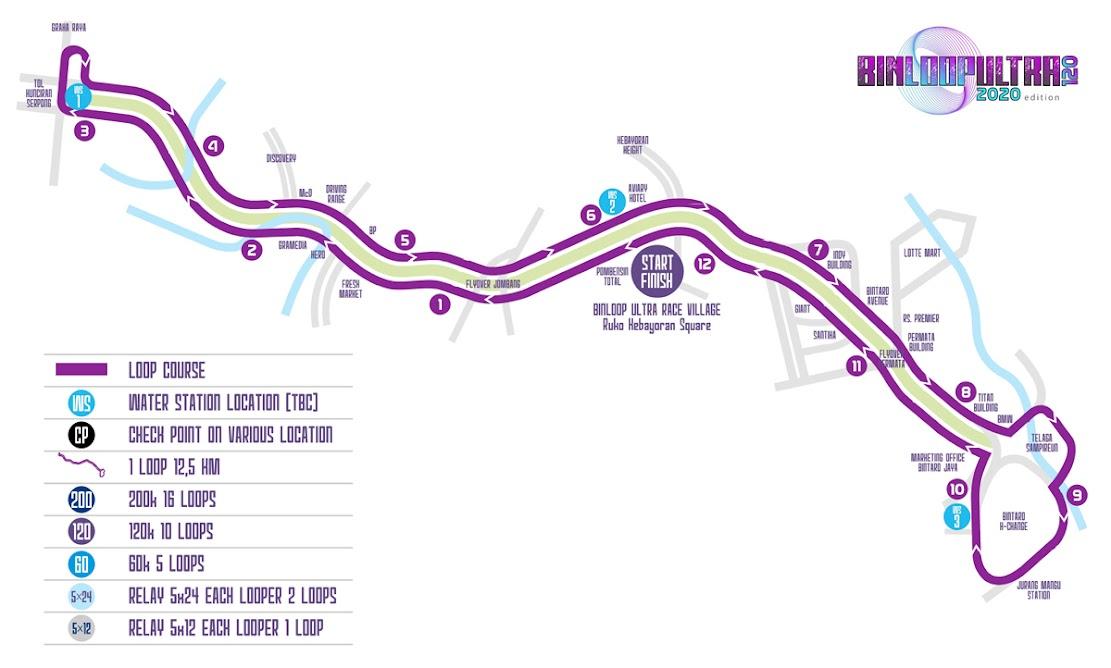 Map - BinLoop Ultra 120K • 2020