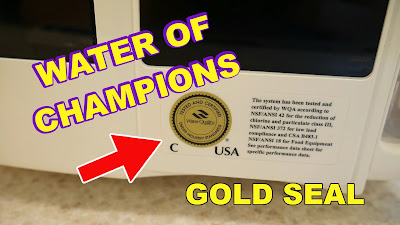 BEWARE of Counterfeits, Imitations to Kangen (WQA Gold Seal Certification)  - Water of Champions